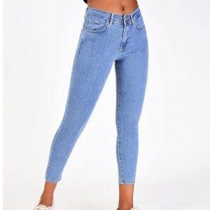 Большой джинсовый пристрой. Скидки — Турецкие джинсы ! Новая коллекция  — Зауженные джинсы
