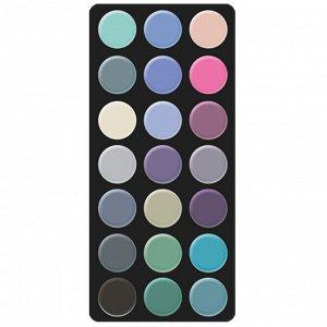 PARISA Набор теней для макияжа №03 (палитра 21 цвет)   (Е-21)