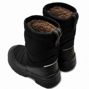 Зимние детские сапоги Nordman Lumi черные