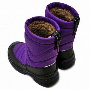 Зимние детские сапоги Nordman Lumi фиолетовые