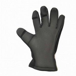 Перчатки неопреновые Nordman для рыбалки и активного отдыха черные