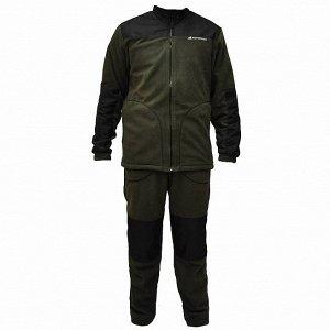 Костюм флисовый Nordman Shelter темно-зеленый