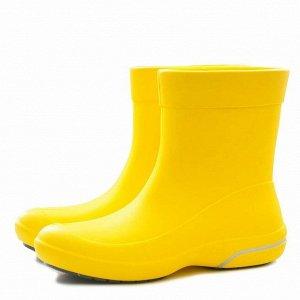 Женские сапоги Nordman Kleo из ЭВА желтые с серым