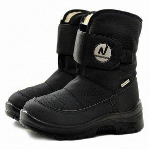 Зимние детские сапоги Nordman Next черные