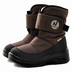 Зимние детские сапоги Nordman Next коричневые