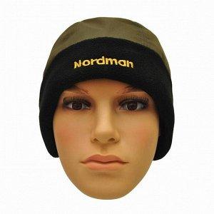 Шапка Nordman непромокаемая с флисом хаки