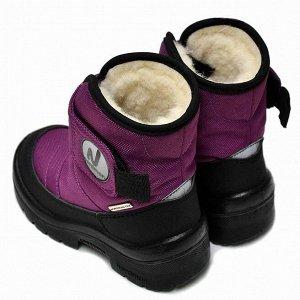 Зимние детские сапоги Nordman Next фиолетовые