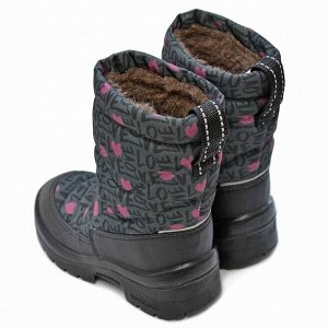 Зимние детские сапоги Nordman Lumi LV GREY