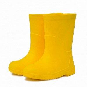 Детские сапоги из ЭВА Nordman Jet желтые