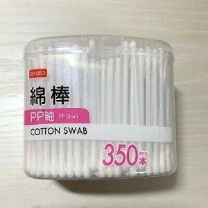 Ватные палочки, 350 шт в контейнере (Япония)