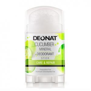 DEONAT  Дезодорант 100 гр, плоский с экстратом ОГУРЦА twistup