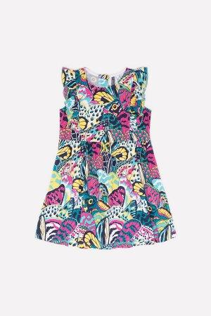Платье(Весна-Лето)+girls (крылья бабочек к239)