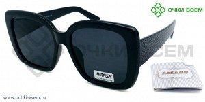Солнцезащитные UV400% AMASS R2020C1 цв.оправы Черный цв.линзы Черный