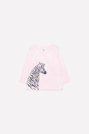 Джемпер(Весна-Лето)+baby (нежно-розовый(веселые зебры))