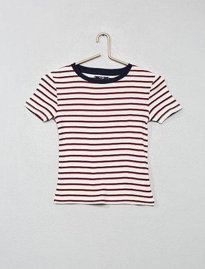 Одежда из Франции для всей семьи! — Девочки. Футболки, водолазки. — Футболки
