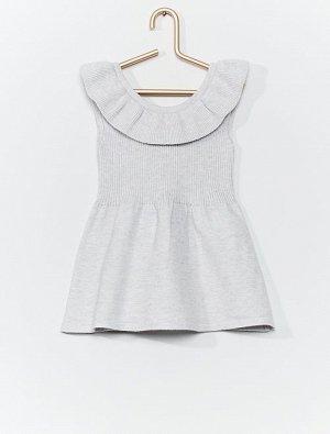 Трикотажное платье 'eco-conception'