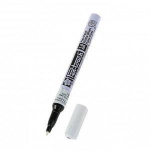 Маркер перманентный для декора Sakura Pen-Touch 1.0 мм белый