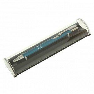 Ручка подарочная, шариковая, автоматическая, в пластиковом футляре, «NEW Стиль», синяя