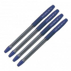Набор ручек шариковых Pilot BPS-GP, резин упор, 1.0мм, масляная основа, чернила синие 4шт