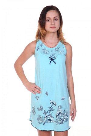 Сорочка №43 (Голубой)