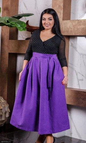 Платье 881109-2 фиолетовый Зима-Весна 2020 Украина