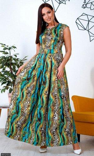 Платье 881210-2 зеленый Зима-Весна Украина
