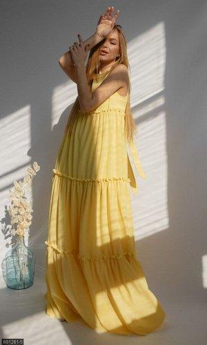 Платье 881261-5 желтый Весна Украина