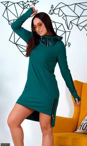 Платье 851531-2 зеленый Весна Украина