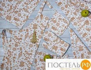 Набор кухонный «Щелкунчик» Прихватка, Варежка, Полотенце - 2 шт