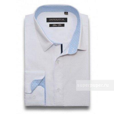 Рубашки TSAREVICH,IMPERATOR   — Белые сорочки /детские, взрослые — Длинный рукав
