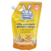 Ушастый нянь ср-во гелеобразное д/мытья дет. посуды  500мл  Дпак