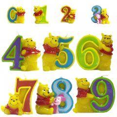 Свеча-цифра Disney Винни Пух
