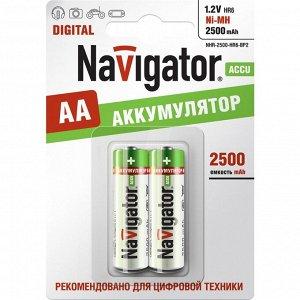 Батарейки Navigator 94 464 NHR-2500-HR6-BP2 (20/100)(Цена за 2 шт.)
