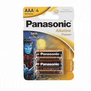 Батарейки PANASONIC ALKALINE LR03/4BP (CDS) (48)(Цена за 4 шт.)