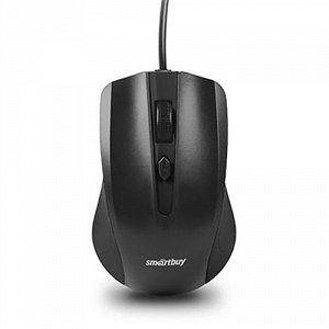 Smartbuy оптич. мышь 352 ONE PS/2 черная (SBM-352P-K) / 100