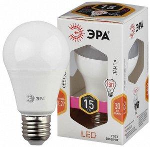 Светодиодная лампочка / лампа ЭРА LED A60-15W-827-E27