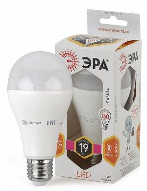 Светодиодная лампочка / лампа ЭРА LED A65-19W-827-E27