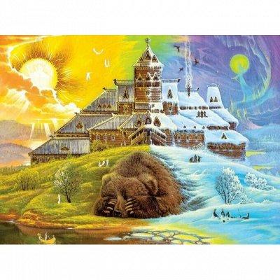 12 - Пазлы DaVICI 😍 Новинки. Рисование на воде Эбру🖌️ — Вторая коллекция — Конструкторы и пазлы