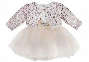 Платье + болеро 401 74-86/3