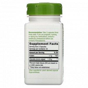 Nature&#x27 - s Way, Chlorella, Micro-Algae, 1,230 mg, 100 Vegan Capsules