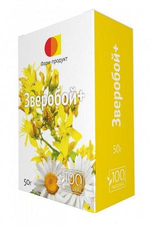 Фиточай Зверобой+ трава зверобоя продырявленного с цветками ромашки аптечной 50 гр.