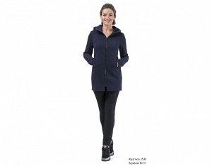 КУРТКА J58 Синий Материал: COTTON с начесом плотный СОСТАВ : ХЛОПОК 92% ЭЛАСТАН 8% Куртка утеплённая на молнии с капюшоном, на полочке карманы в швах