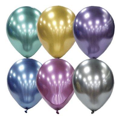 PARTY-BOOM - все для твоего праздника! Дым и Холи! — Латексные воздушные шары без рисунка — Воздушные шары, хлопушки и конфетти