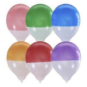 """Воздушный шар 12""""/30см Пастель Bicolor ассорти 25шт"""