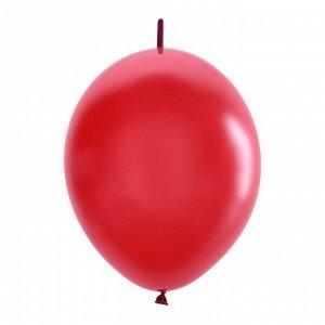 """12""""/30см Шар LINKING Декоратор CHERRY RED 50шт"""