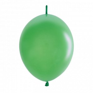 "12""/30см Шар LINKING Декоратор LIME GREEN 50шт"