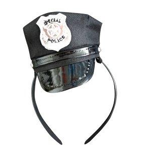 Фуражка полицейского на ободке
