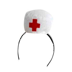 Шляпка медсестры на ободке