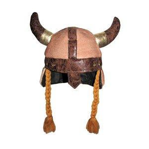 Шляпа Викинг с косами