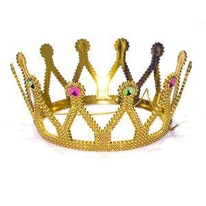 Корона золотая d 16 см